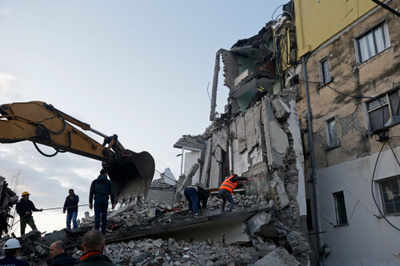 6 4 Magnitude Quake Hits West Albania