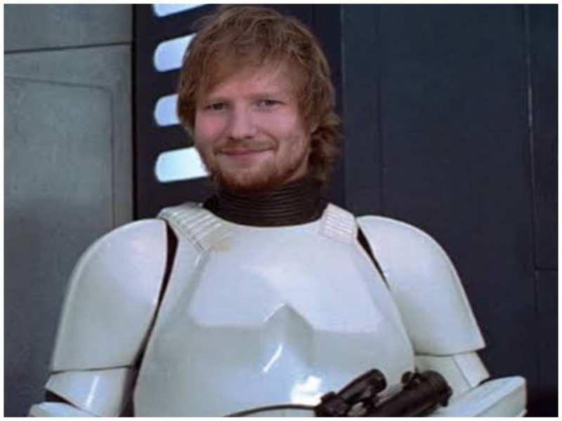 Ed Sheeran to play a stormtrooper in 'Star Wars: The Rise of Skywalker'
