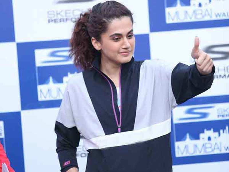 Taapsee Pannu at the event