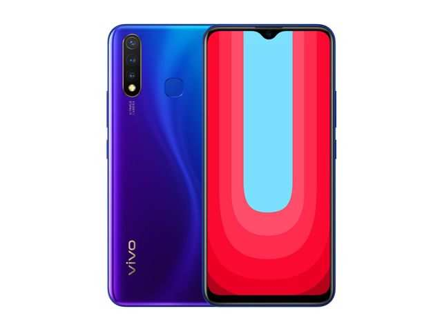 Vivo U20 with 5000mAh battery to go on sale today at 12pm via Amazon