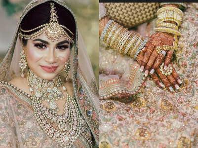 This Bangladeshi bride wore a Sabyasachi lehenga