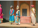 Karnad's play Tughlaq staged at  State Theatre Competition