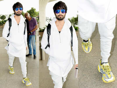Shahid Kapoor's ugly dad sneakers cost a bomb