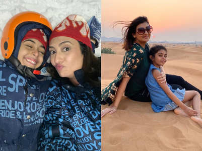 Juhi's adorable vacay pics with daughter
