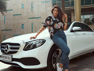 Nehha Pendse's bf Shardul gifts her a car