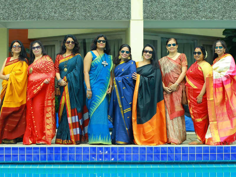 A meet-up to revive the love for sari