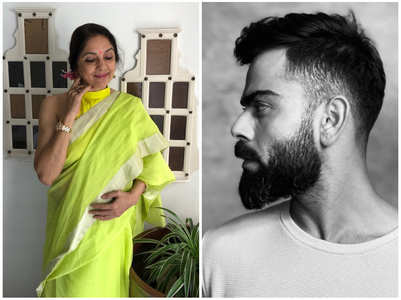 Neena is in awe of Virat's 'chiseled' jawline!
