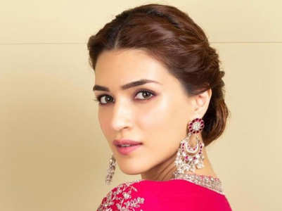 Kriti Sanon's hairstyles are just perfect for Indian wear