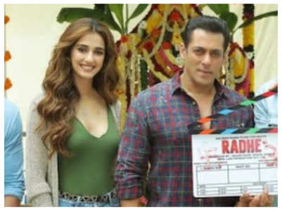 Disha on sharing screen space with Salman
