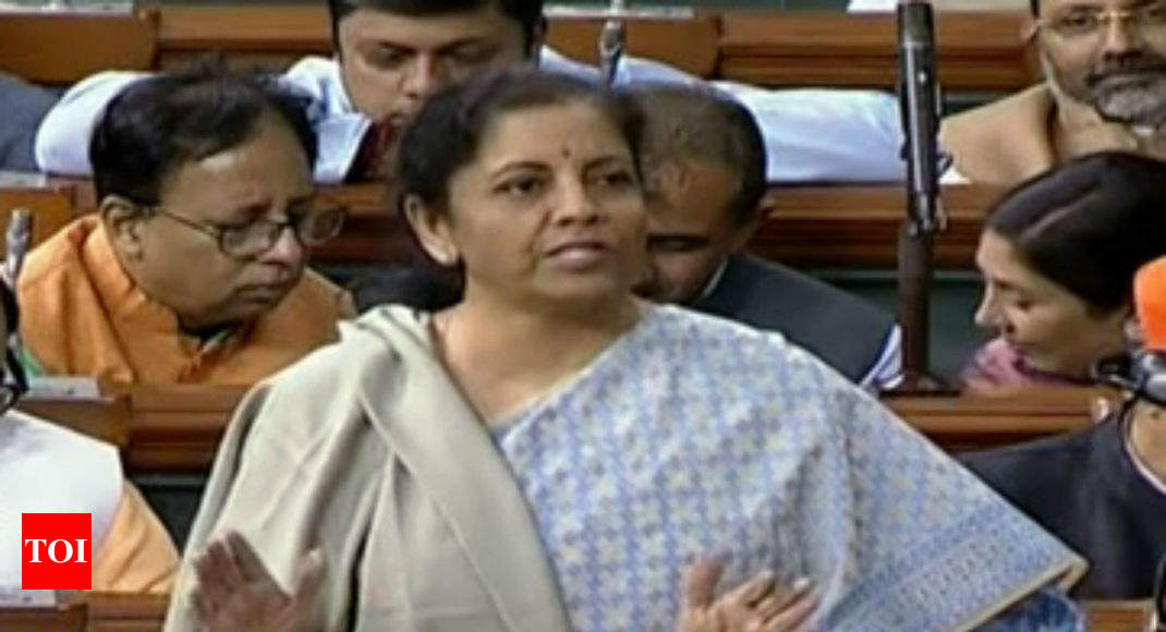 We are a government that listens, says finance minister Nirmala Sitharaman -