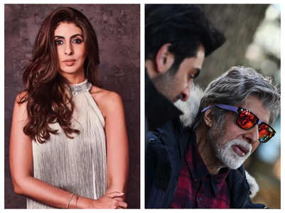 Shweta cannot stop gushing over Big B's pics