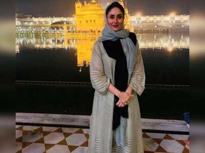 Photo: Kareena Kapoor visits Golden Temple