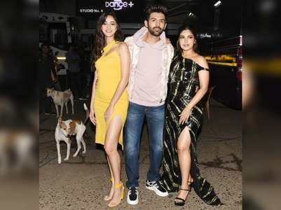 'PatiPatni' stars make a stylish appearance