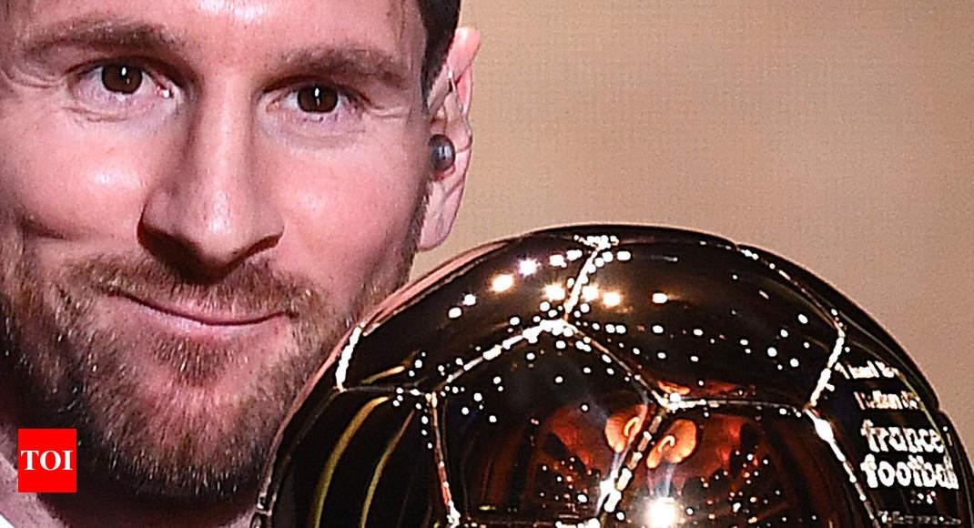 Lionel Messi claims record sixth Ballon d'Or, Rapinoe wins women's award
