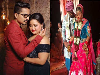 Bharti-Haarsh's second wedding anniversary