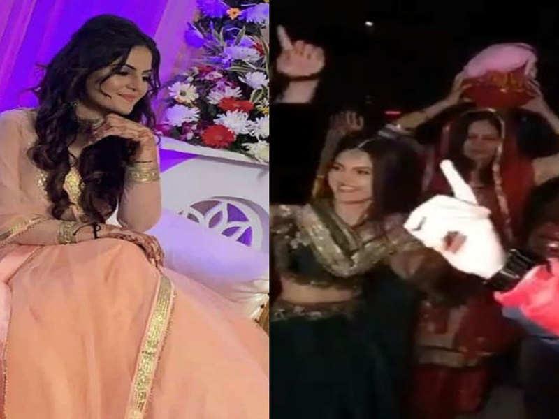 Watch: Bride-to-be Tanvi Nagi dances the night away at her pre-wedding ceremonies