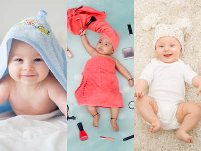 Five mandatory photos of your newborn