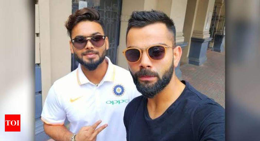 HUMOUR: Rishabh Pant complains of atmosphere of fear under Kohli-Shastri - Times of India