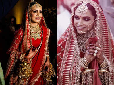 This bride wore Deepika's wedding lehenga