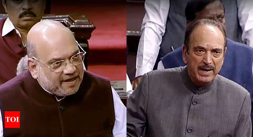 Parliament passes bill to amend SPG Act; Amit Shah rejects charge of political vendetta | India News - Times of India