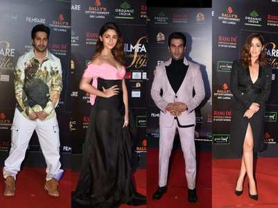 Celebs at Filmfare Glamour & Style Awards