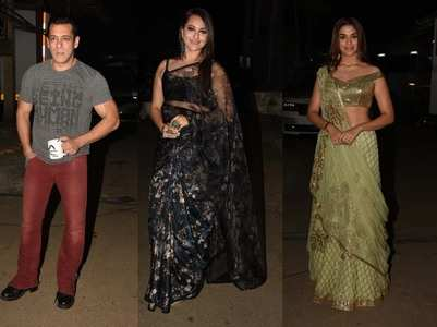 Pics: Dabangg 3 cast promote the film on a show