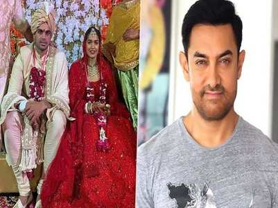 Aamir wishes Babita Phogat on her wedding