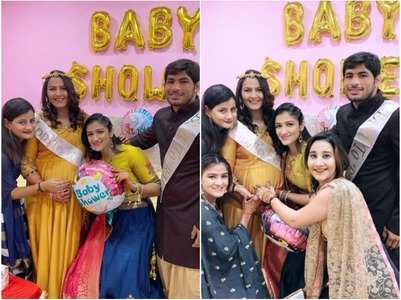 A look at Geeta Phogat's baby shower pics