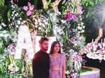 Manish Pandey & Ashrita Shetty's reception pictures