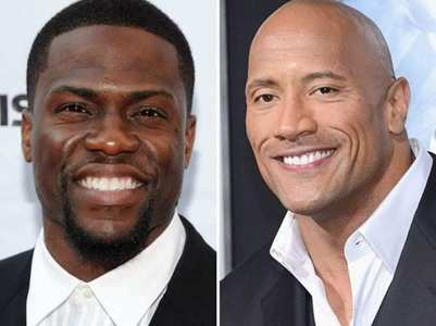 Dwayne Johnson takes a dig at BFF Kevin Hart