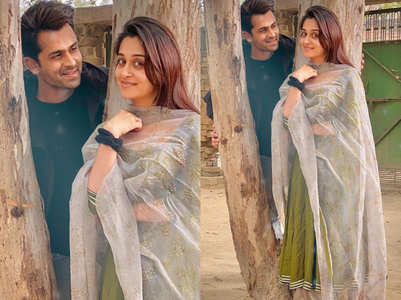 Dipika-Shoaib go 'desi' in Lucknow; enjoy jalebis
