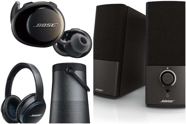 Happy Holiday deals on Amazon: Discount on Bose headphones, speakers and home audio products