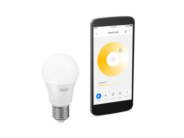 Lenovo Smart Bulb, 7-inch Smart Display and Smart Camera arrives