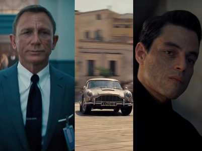 'No Time To Die' trailer: James Bond is back!