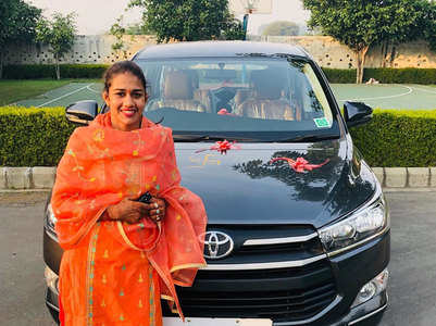 Nach Baliye 9 contestant Babita's new car