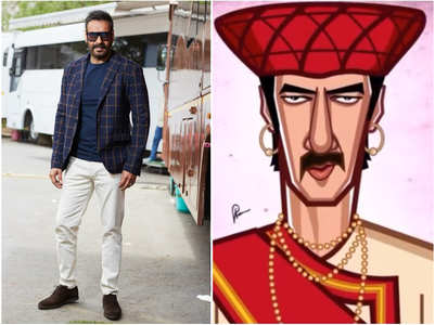 Watch: Ajay shares illustrations made by fans
