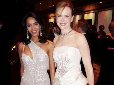 Rewind! Mallika-Nicole Kidman twin in white