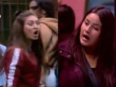 BB13: Shefali Jariwala slaps Shehnaz Gill