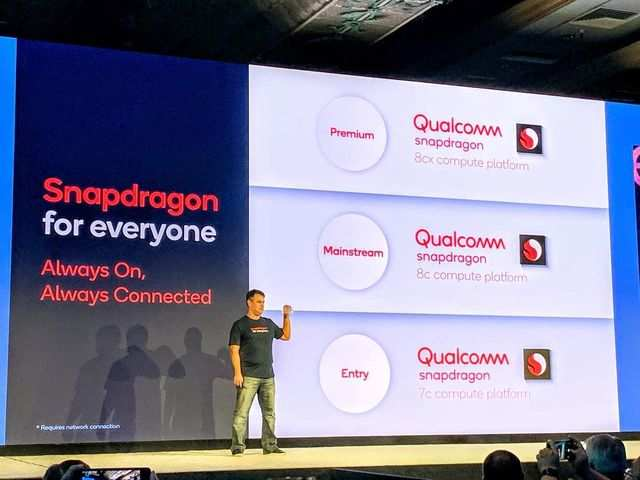 Qualcomm launches Snapdragon 8c and 7c processors for laptops