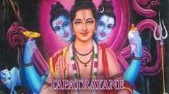Lord Shri Dattatreya Song 'Tapatrayane' In Marathi Sung By Dr. Balaji Tambe