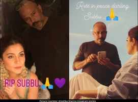 Anushka's note for her late make-up artist