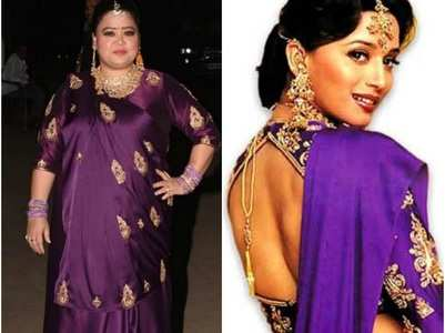 PIC: Bharti recreates Madhuri Dixit's look