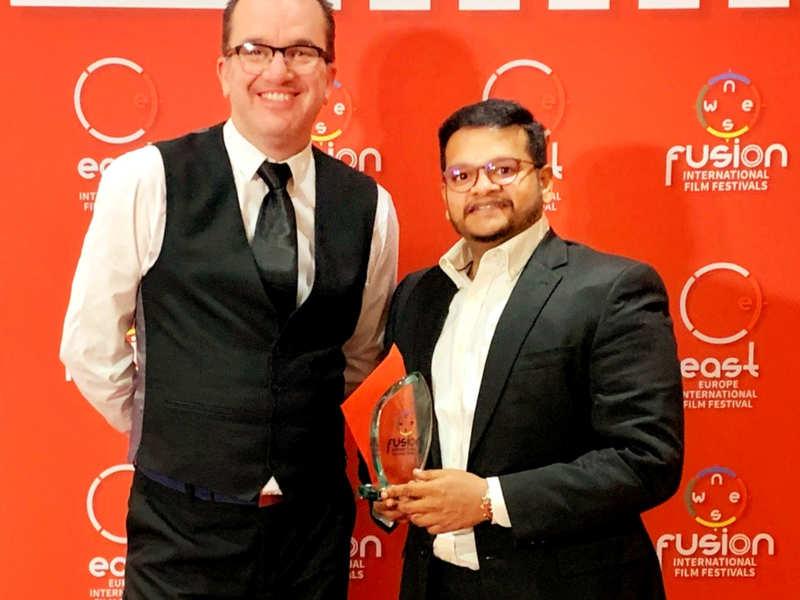 Vishnu Vishal Ghibran Wins International Award For Ratsasan Score Tamil Movie News Times Of India