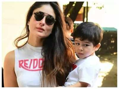 Bebo on Taimur accompanying her on shoots