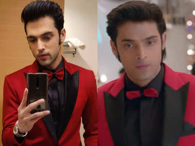 Parth wore same suit at a shaadi and Kasautii