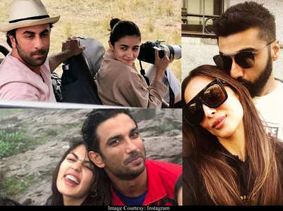Bollywood couples snapped on secret vacations