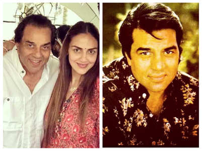 Esha Deol's birthday post for Dharmendra