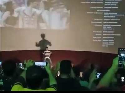 Watch: Kartik dances to 'ASGM' in a theatre