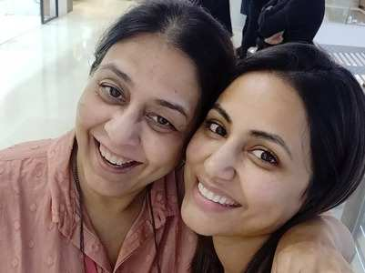 Hina meets Bhabhi maa of YRKKH
