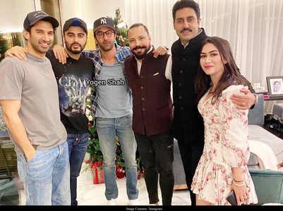 Ranbir parties with Arjun,Abhishek & Adtiya